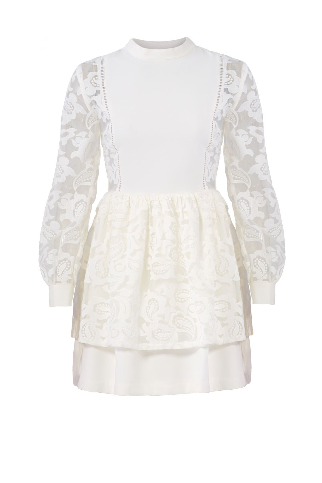 English Factory White Lace Layered Dress Layer Dress Lace Layers White Lace [ 1620 x 1080 Pixel ]