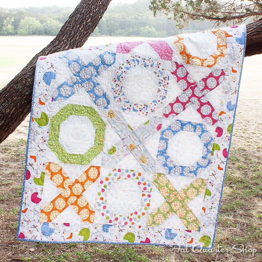 Download This Free Quilt Pattern Hugs Kisses Featuring Precious
