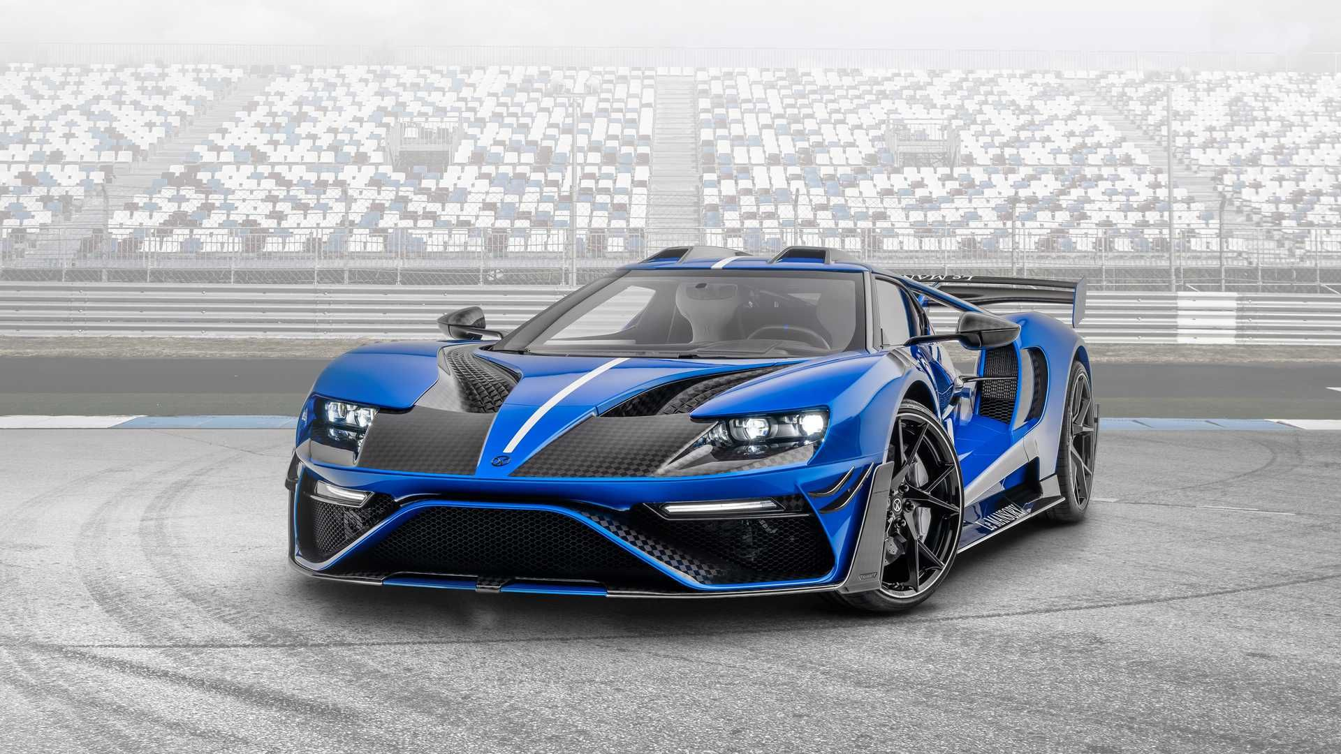 Ayto Einai To Ford Gt Le Mansory Twn 700 Ippwn Automotors Gr In