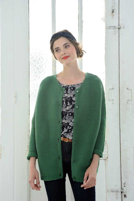 conception de la variété grandes marques remise spéciale de Almaric Green - cardigan - Des Petits Hauts   :: STYLES ...