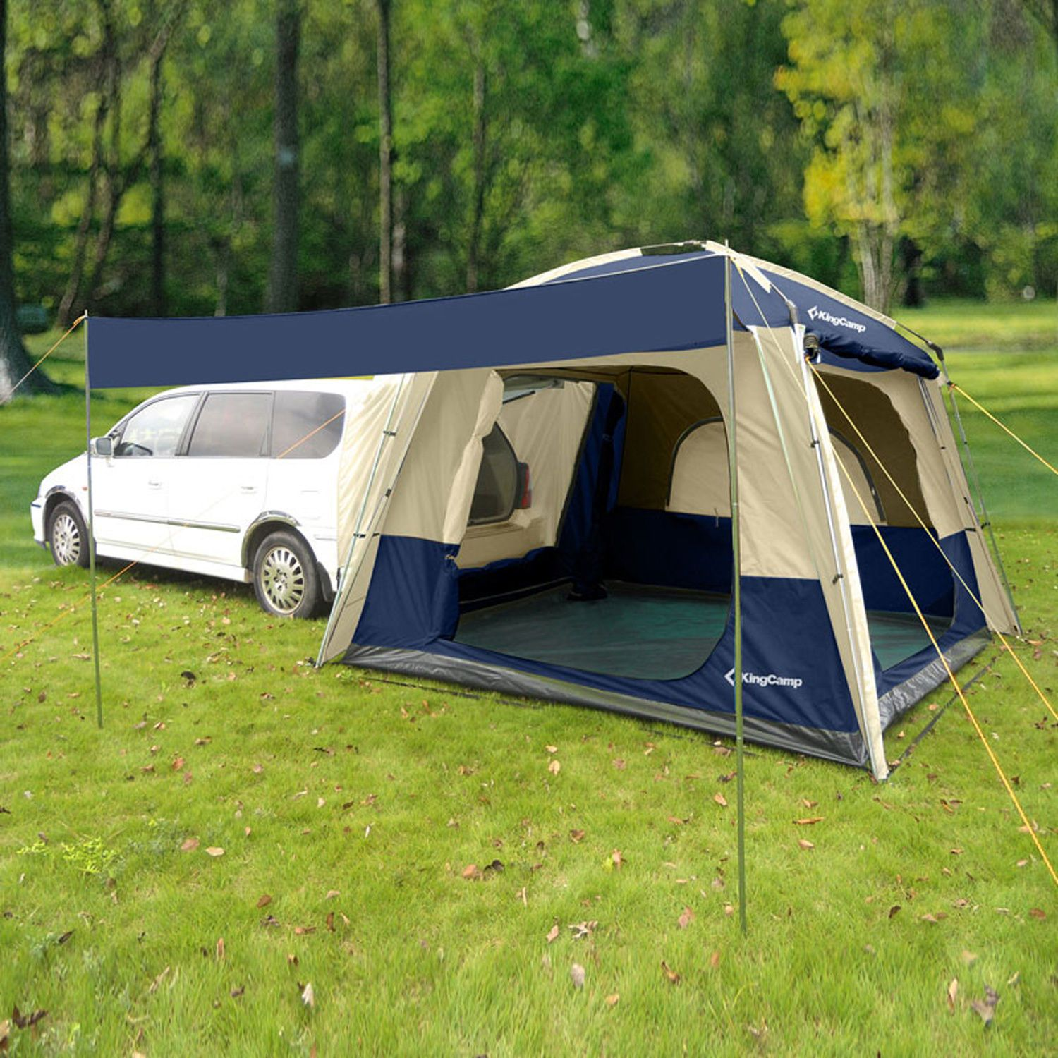 5 Person Car Tent Awning Suv Shelter Family Outdoor Camping Travel Sunshad Camp Suv Tent Car Tent Tent