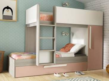 Etagenbett Antonio : Etagenbett ausziehbett antonio cm rosa für die