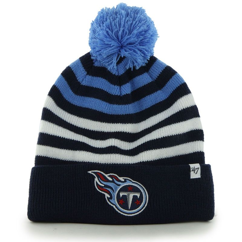 d57ea9839c546b Tennessee Titans '47 Child Yipes Cuffed Knit Hat - Navy | Products ...