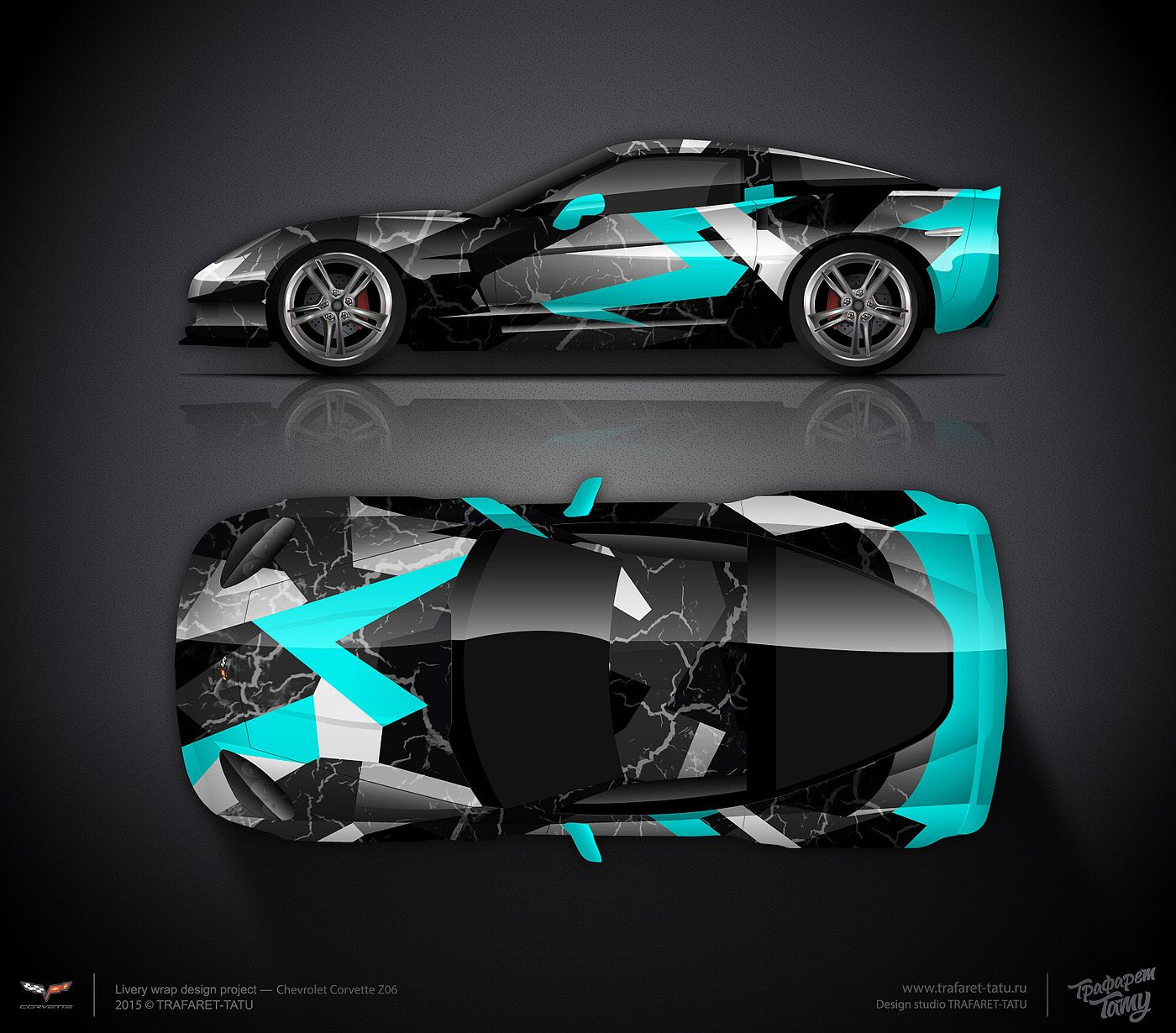 Car sticker design competition - Design Consept 1 Chevrolet Corvette C6 For Sale Car Stickersvehicle