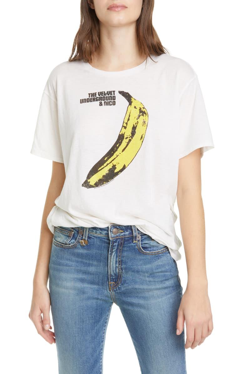 R13 Velvet Underground Banana Graphic Tee Nordstrom R13 Fashion Clothes Women Velvet Underground