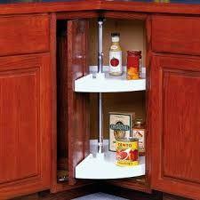 cabinet accessories unlimited knape amp vogt door mount pie cut lazy susans feature a