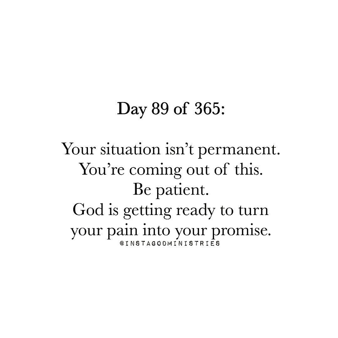 Your situation isn't permanent.