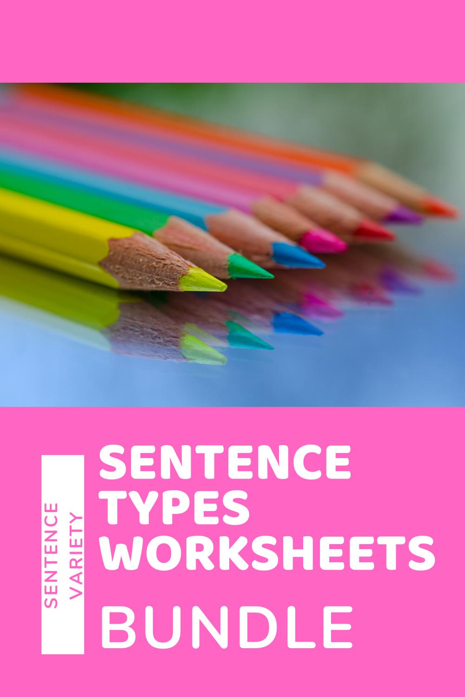 Sentence Types Bundle Ccss Aligned 4th 12th Grade Compound Complex Etc Types Of Sentences Worksheets Complex Sentences [ 1500 x 1000 Pixel ]