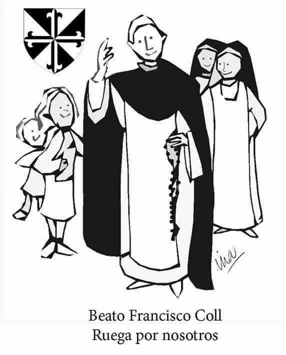 Beato Francisco Coll | Szentek - Saints | San Francisco, Catholic és ...