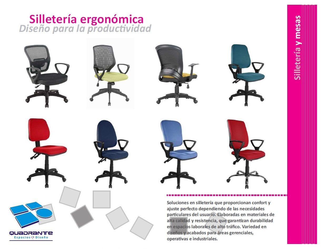 Sillas ergonómicas Mobiliario, Portafolio, Disenos de unas