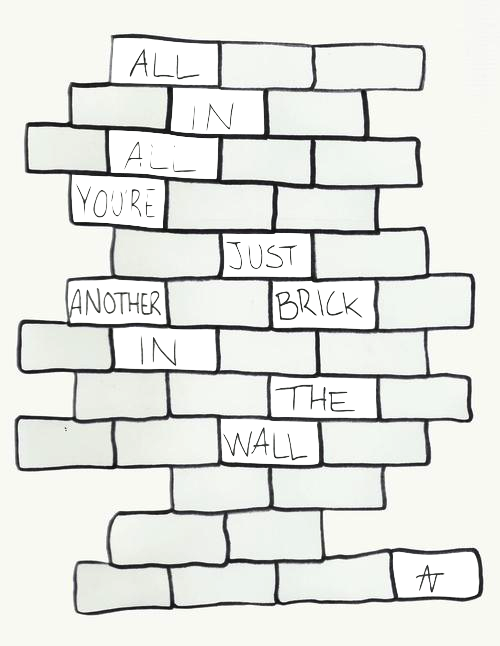 Pink Floyd With Images Pink Floyd Quotes Brick In The Wall Pink Floyd Lyrics