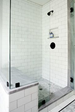 Small Shower With Bench