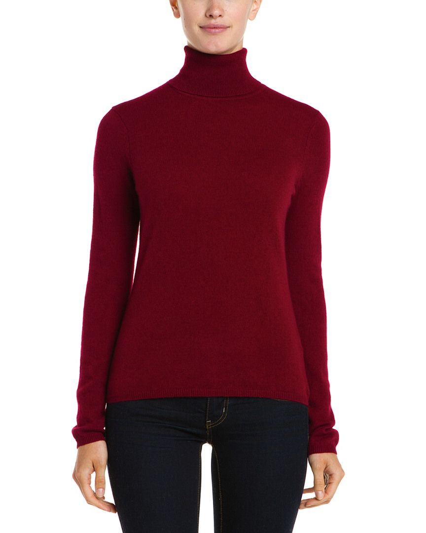 In Cashmere Wine Turtle Neck Cashmere Sweater is on Rue. Shop it ...