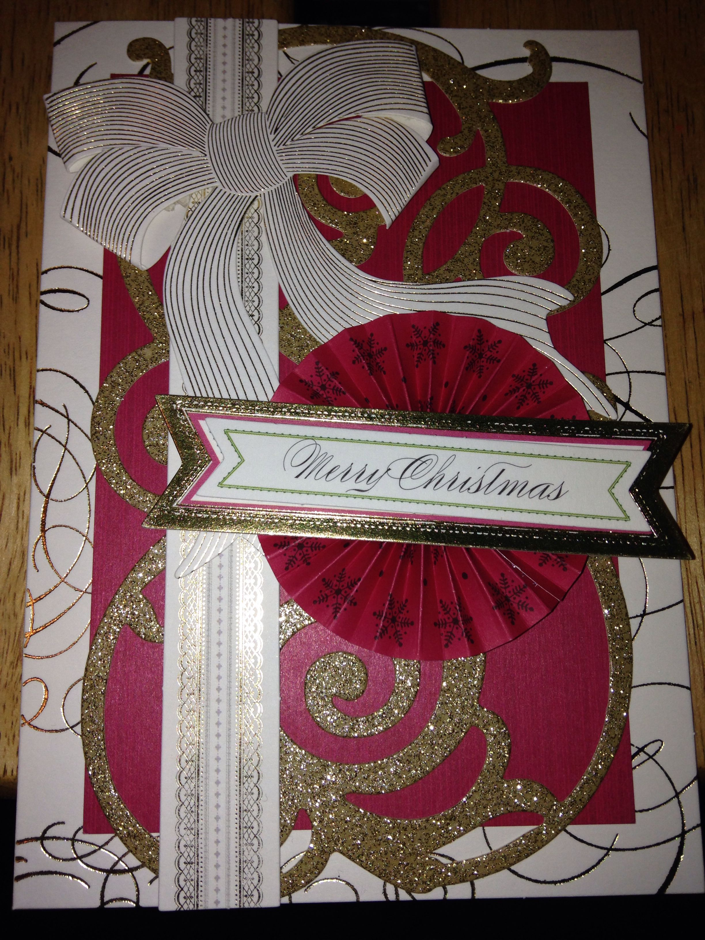 Anna Griffin Holiday Trimmings Card Kit Anna griffin