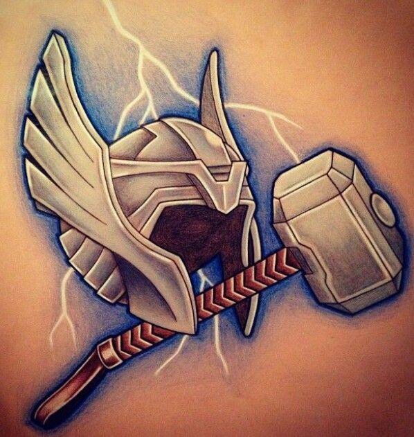 Lightning God With Images Thor Tattoo Marvel Tattoos