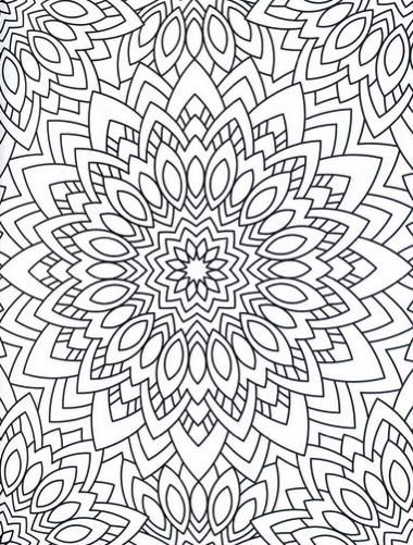 Zen Mandalas Coloring Book : 75 best coloring books for adults