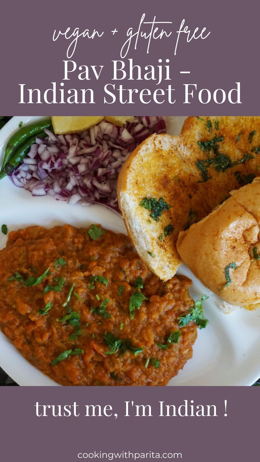 Pav Bhaji - Indian Street Food