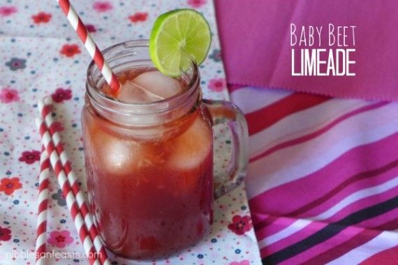 Baby Beet Limeade » Nibbles and Feasts