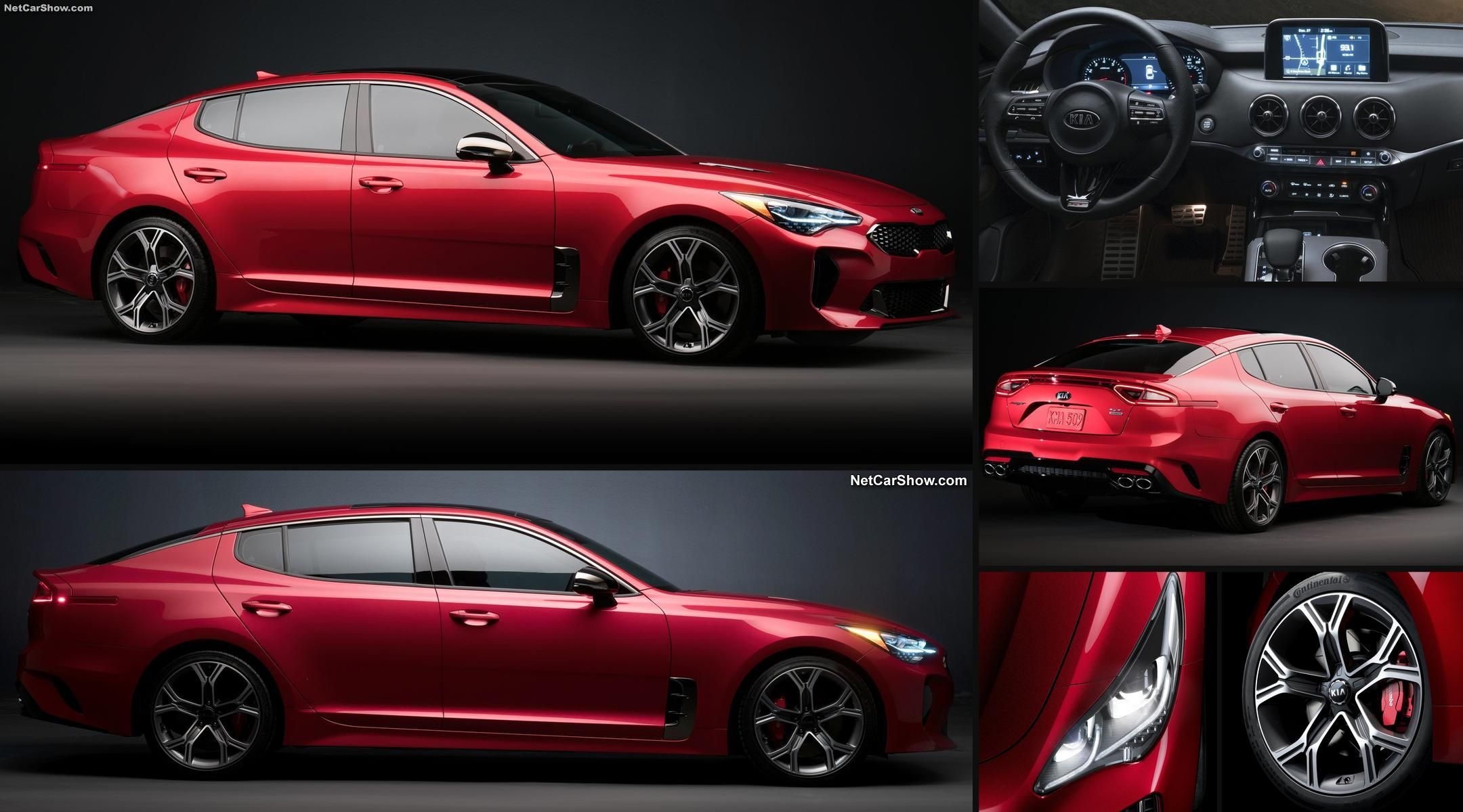 The Kia Stinger Gt Is Kia S Fantastic 365 Hp Rear Wheel Drive Sport Sedan Aimed At The Germans Http Jalopnik Com The Kia Stinger Gt Kia Stinger Kia Kia 2017
