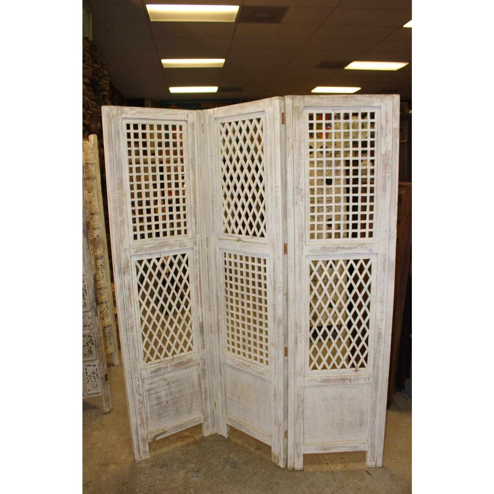asian 1920 s vintage 3 panel wooden screen room divider for sale rh pinterest com