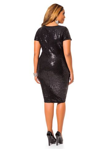 Every girl should have this in her closet!!!!  Sequined Sheath Dress