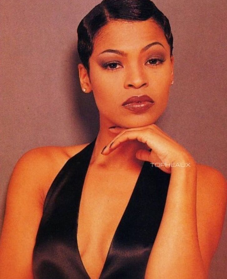 Image Result For Nia Long Short Hair 90s Hair Styles Short Hair