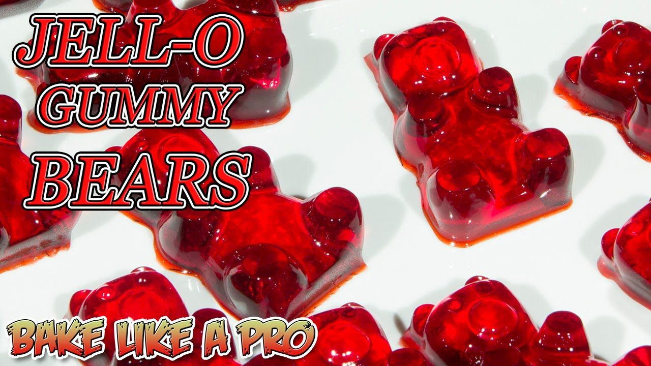 Easy Jello Gummy Bears Recipe Really Easy And Pretty Good I Add Unsweet Kool Aid For Sour Bears Sour Gummies Recipe Gummies Recipe Bear Recipes