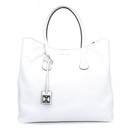 wardow.com - #bag #trend #blackandwhite #Coccinelle Sheela Handtasche glattes Rindsleder weiß