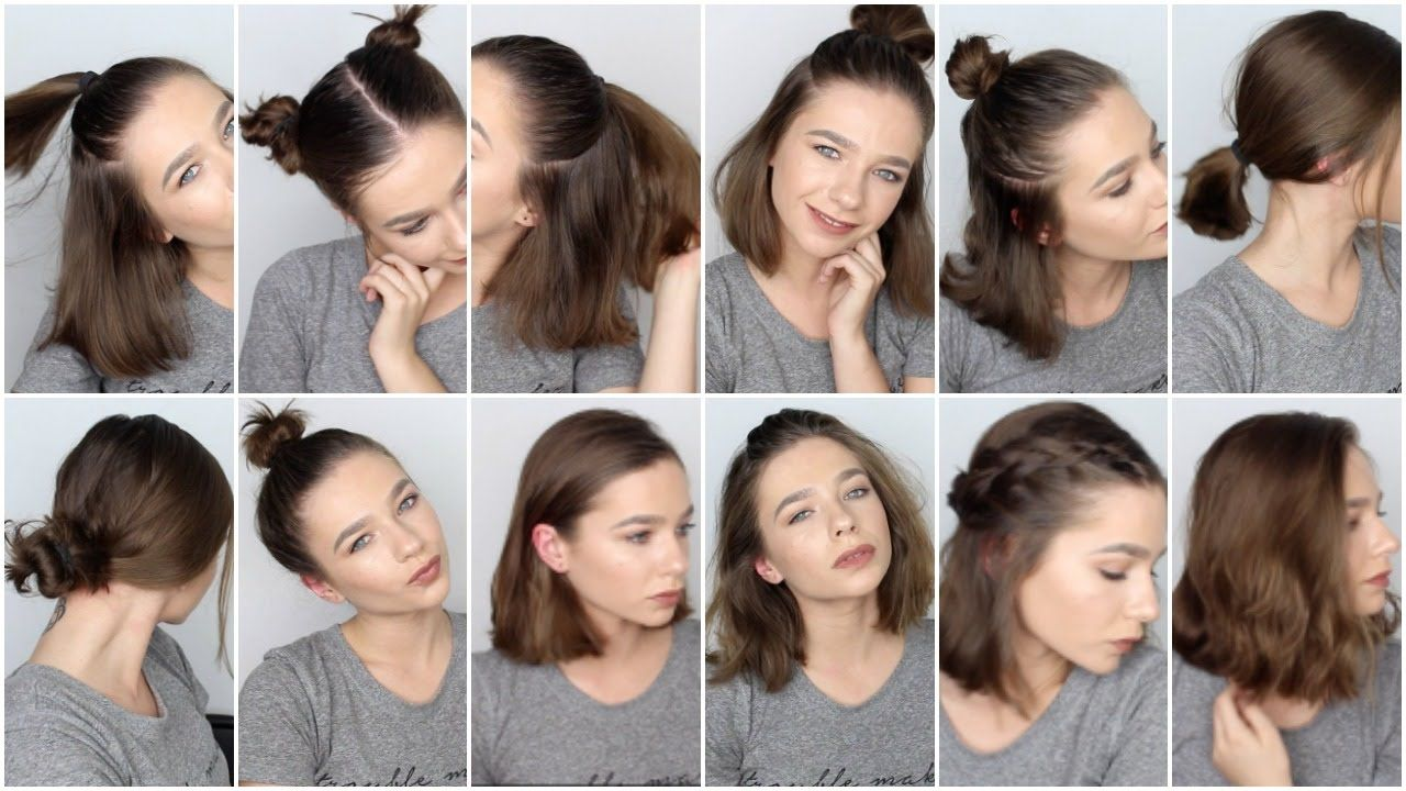 Hairstyles For Short Hair For Work Short Hair Styles Easy