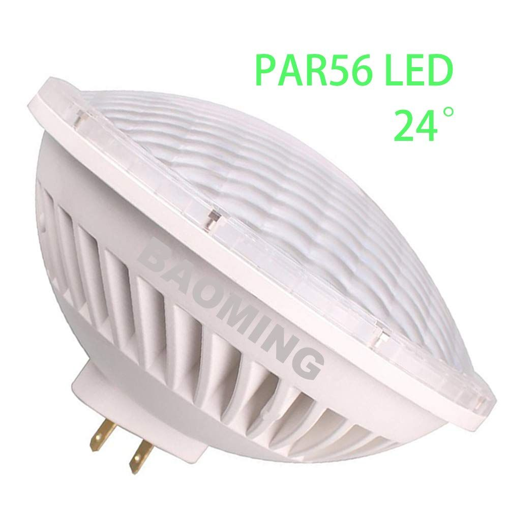 Baoming Par 56 Led Bulb Warm White 2700 3000k 24a Deg Accent Lighting Replace Standard 300 Watt Par 56 Halogen Light Ac Led Bulb Flood Lights Dimmable Led