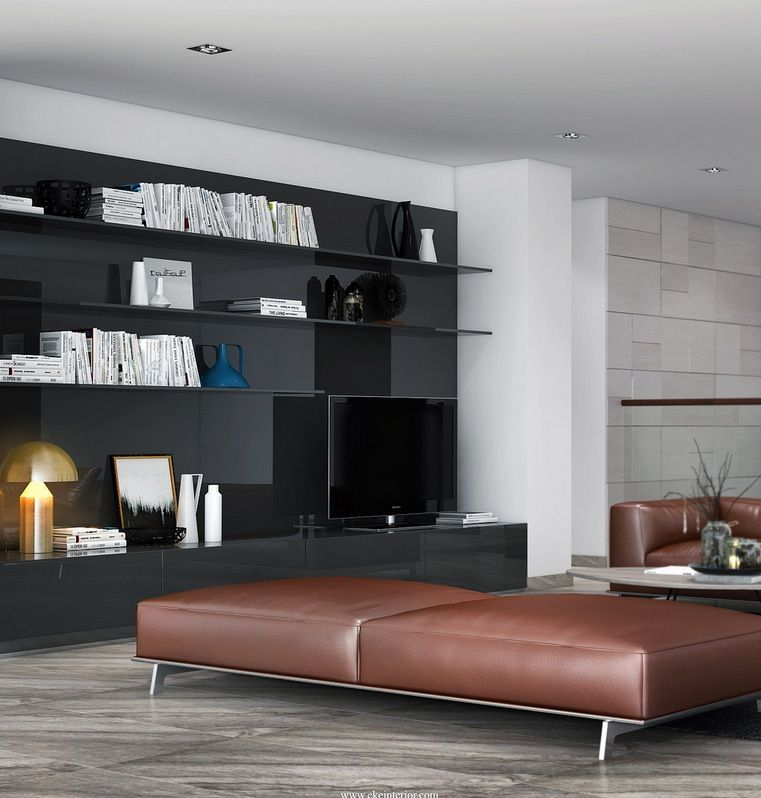 Leather living room bench | Home Decor | Pinterest | Leather living ...