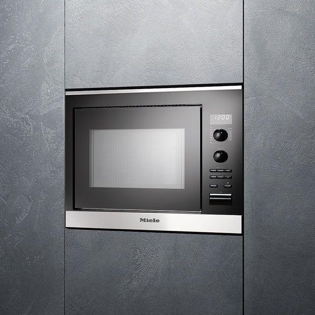 What Year Was The Microwave Oven Invented: Miele ContourLine M6022SC Narrow Width Built In Microwave