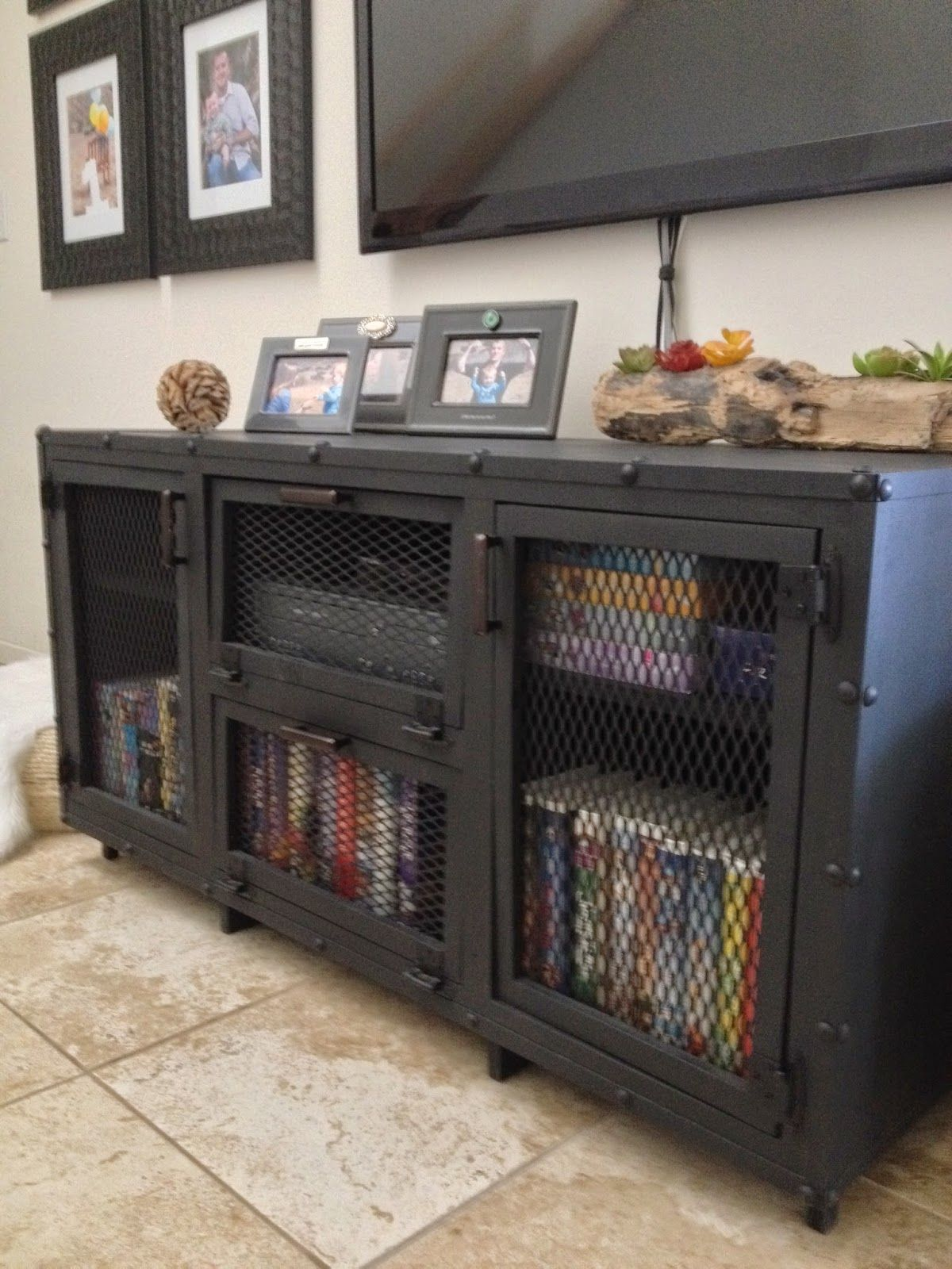 How to upgrade your old and ugly media console crafty u sneaky