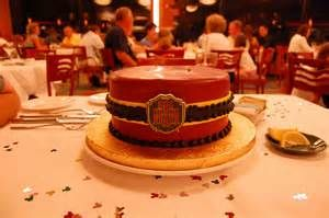 The Disney Cake Blog Tower of Terror Bellhop Hat Cake Disney