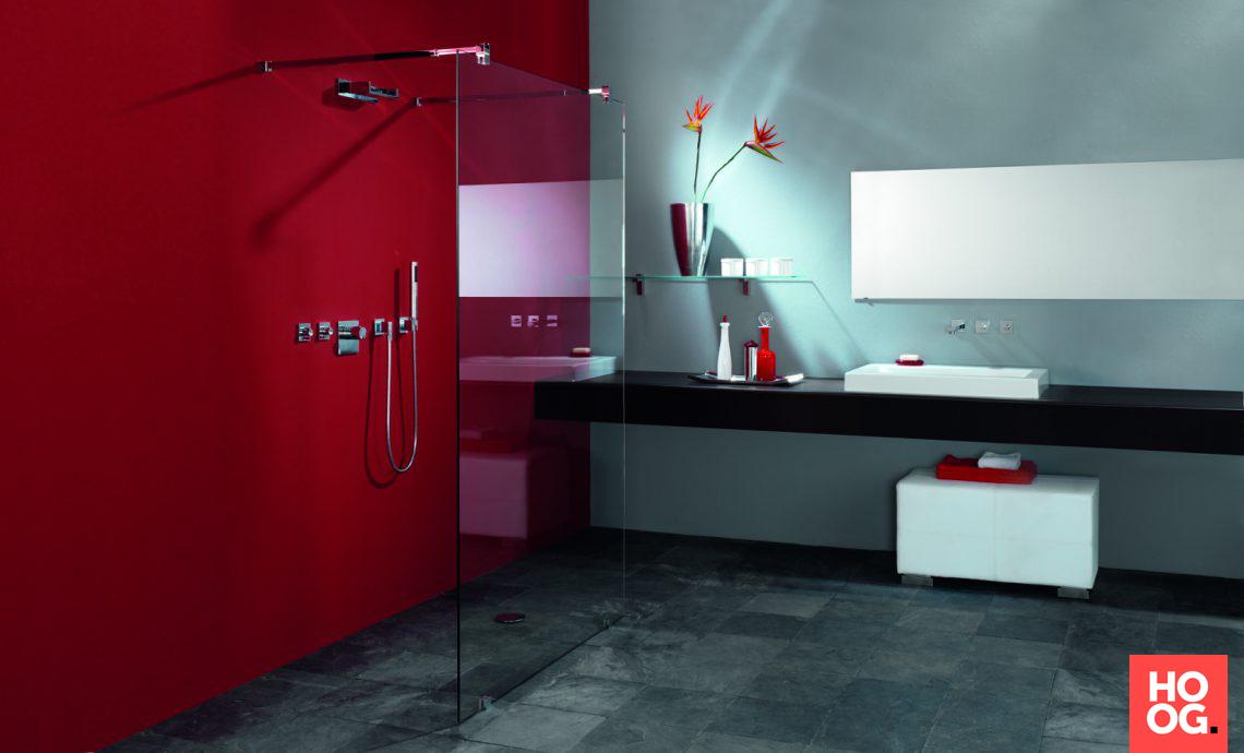 Luxe Badkamers Inspiratie : Glazen wand in luxe badkamer hoog □ exclusieve woon en tuin
