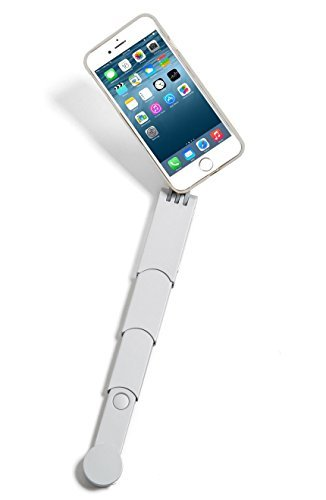 Snapstyk Selfie Stick Iphone Case Built In Retractable Selfie Stick Bluetooth Technology For Taking Pictures Silver Iphone 6 6s The S Selfie Stick Cell Phone Accessories Iphone Cases