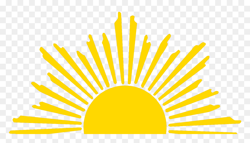 Transparent Sun Graphic Png Rising Sun Half Sun Clipart Png Download Is Pure And Creative Png Image Uploaded By Design Graphic Design Logo Free Png Sun Logo