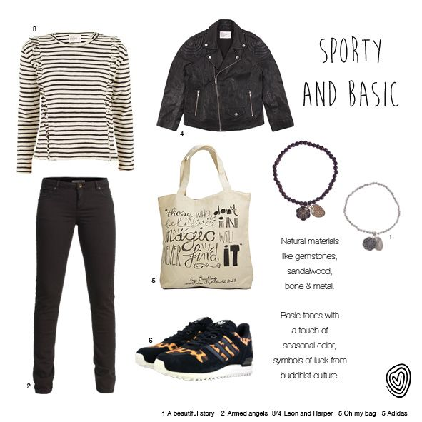 Sporty and basic