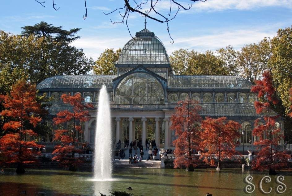 El Palacio de Cristal en otoño