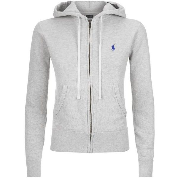 a46c826abb9fe Polo Ralph Lauren Logo Embroidered Hoodie ( 160) ❤ liked on Polyvore  featuring tops,