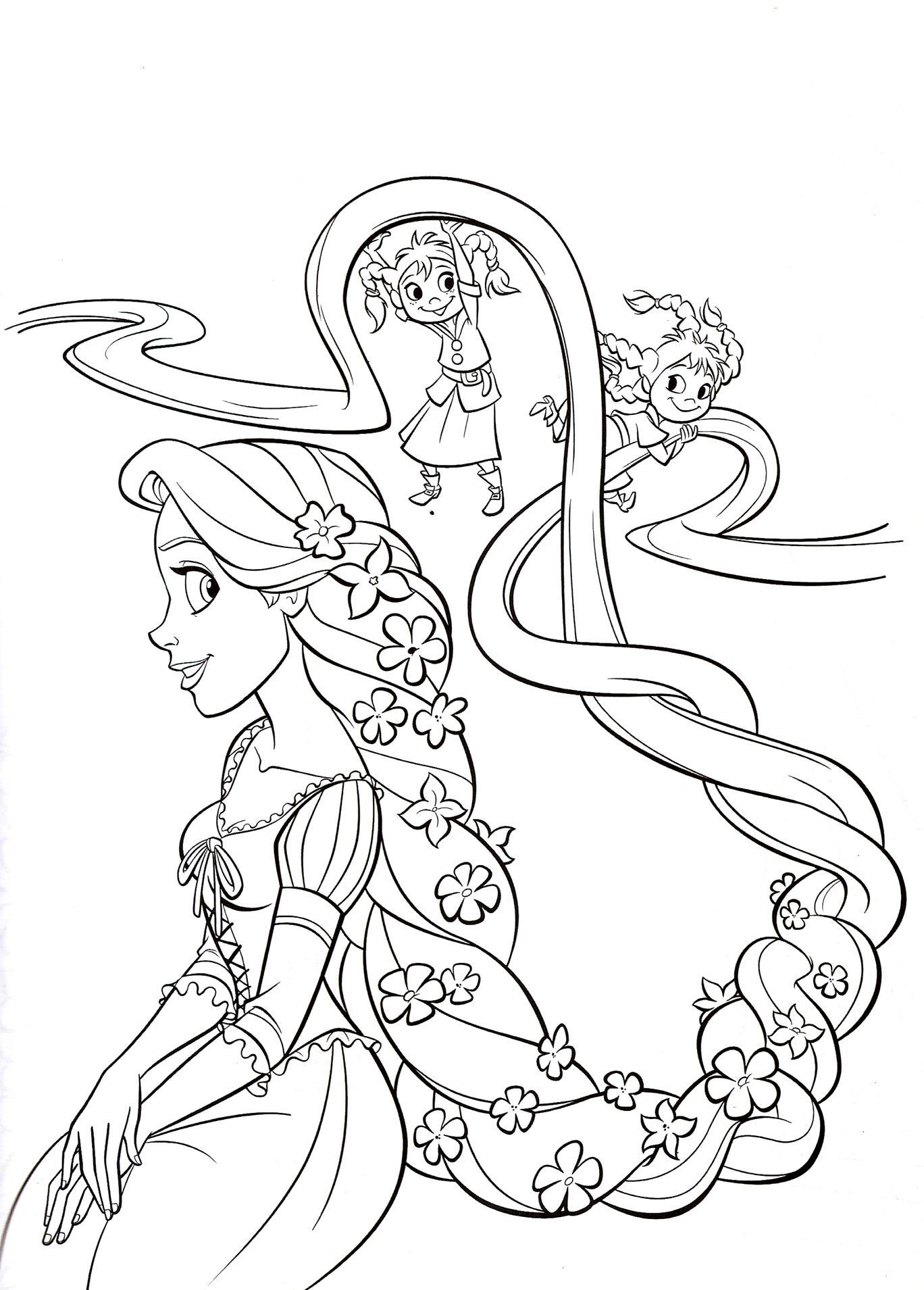 dibujos de las princesas para colorear e imprimir Archivos ...