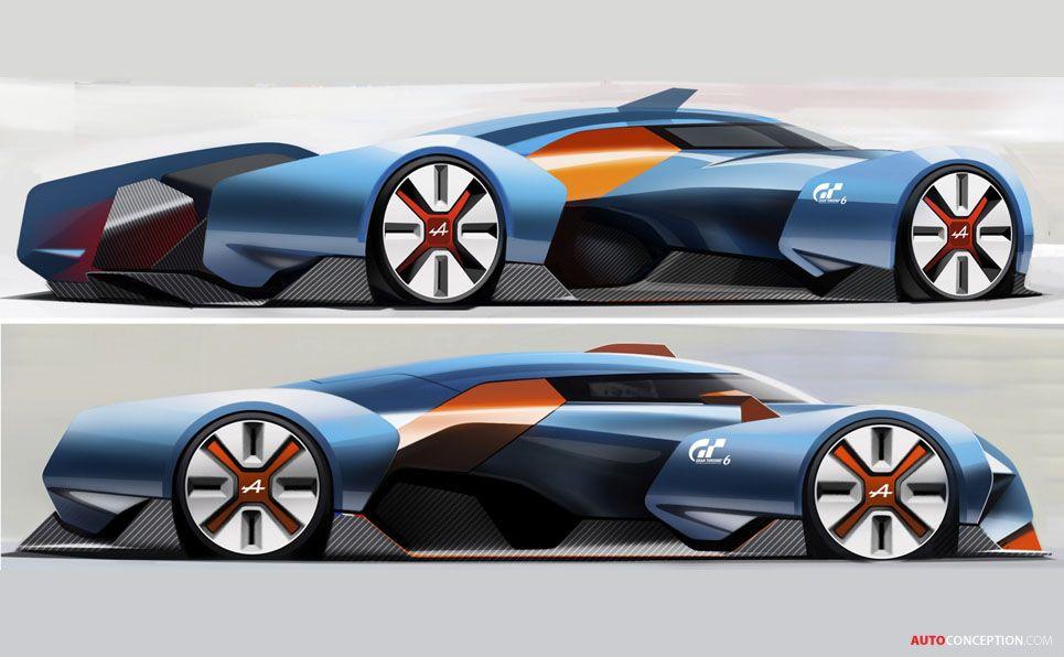 2015 Renault Alpine Vision Gran Turismo Concept Hot Vehicle