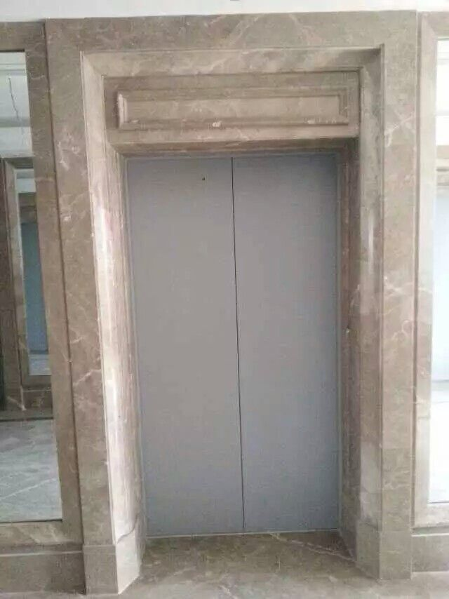 Light Emperador Marble Door Frame Surrounding Door Frame Emperador Marble Doors