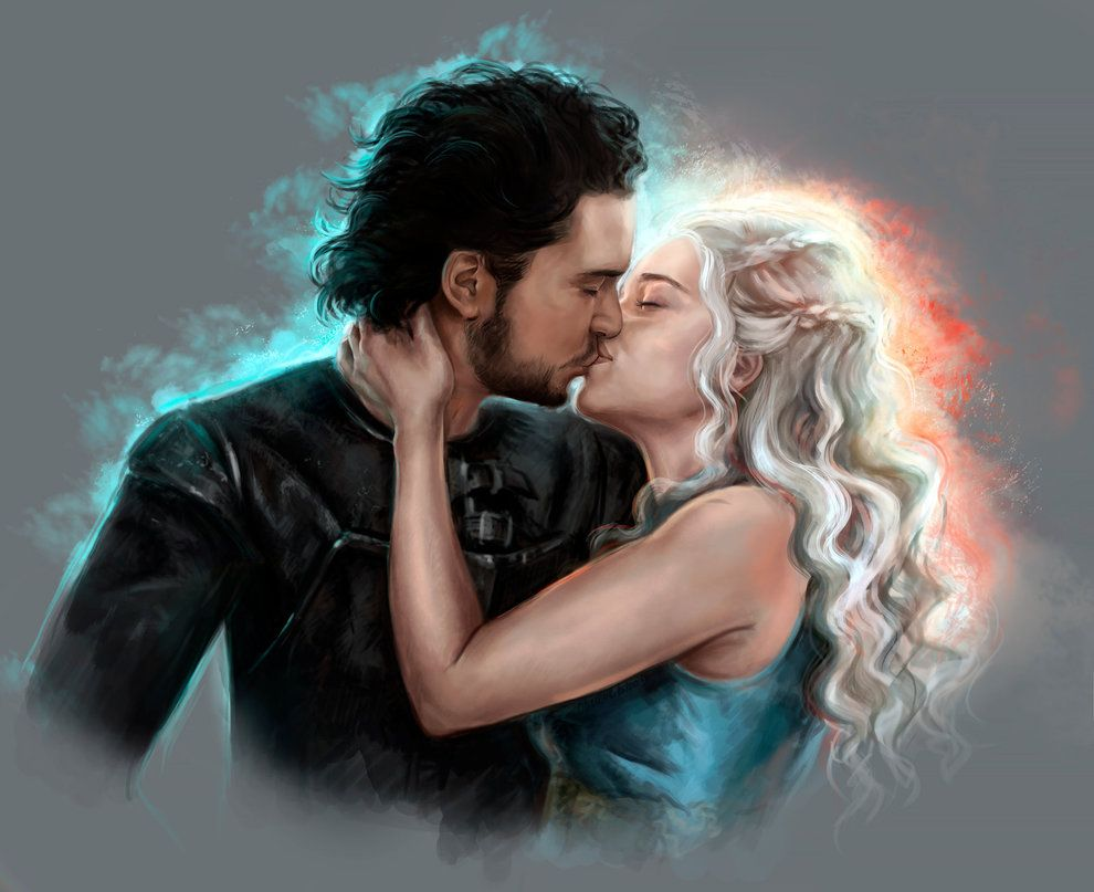 Risultati immagini per daenerys and jon