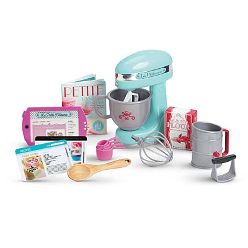 Details about American Girl Grace Baking Set #dollaccessories