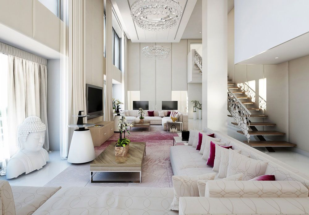 Delicieux High Ceiling Rooms And Decorating Ideas For Them
