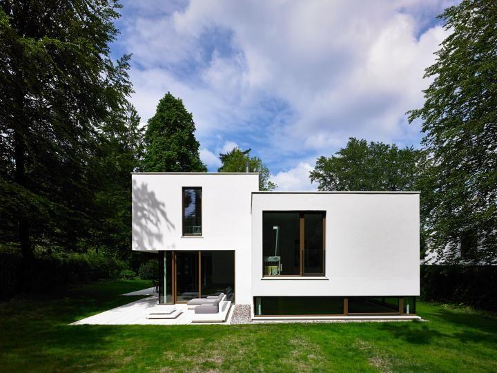 lynx architektur   wohnanlage in grünwald architecture - moderne gartengestaltung exklusiver
