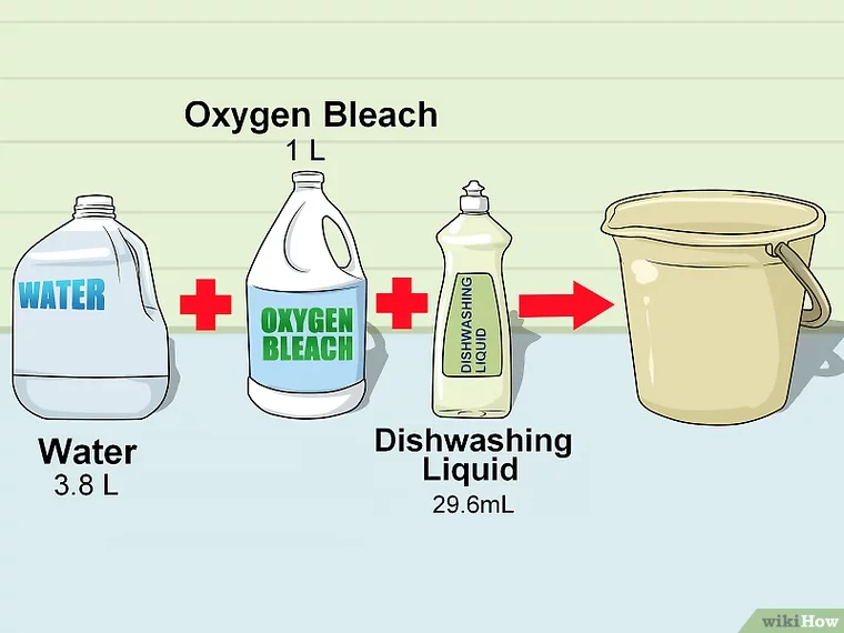 Clean The Outside Of A House Cleaning Household Hacks Oxygen Bleach