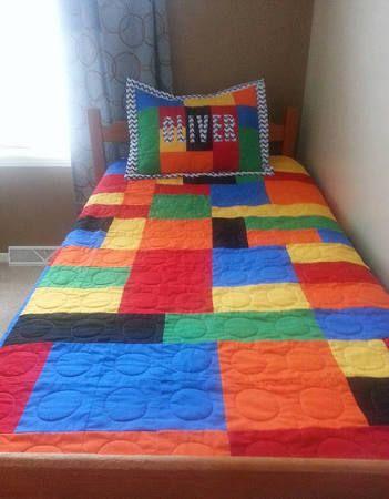 Lego Bedspread Google Search Lego Room Decor Lego Bedroom