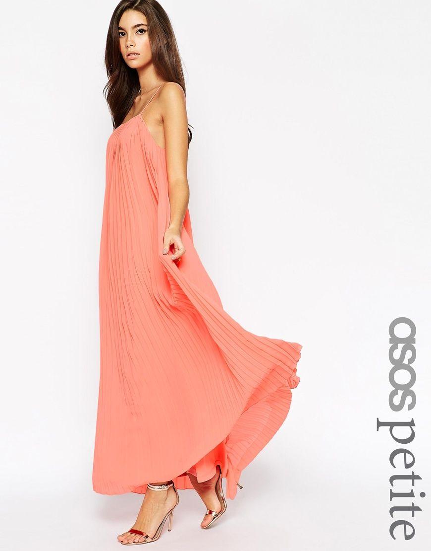 Plus size beach wedding guest dresses  PETITE Maxi Dress with Pleats  WEDDING GUEST WEAR  Pinterest